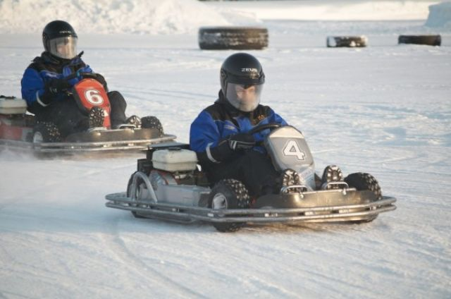 4. Tag: Icekarting